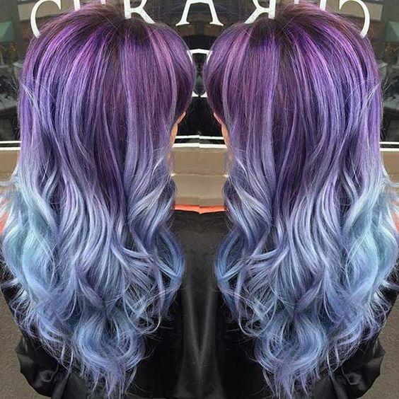 Фиолетовое омбре (1)