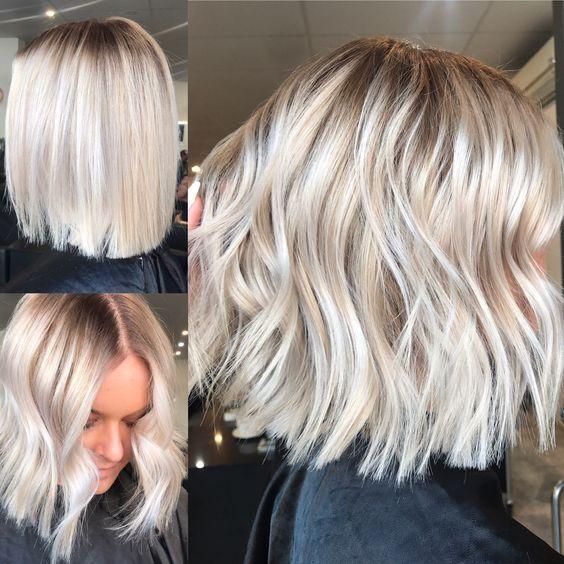 Окрашивание коротких волос 2019 (56)
