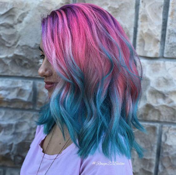 Окрашивание волос 2019 тренды (107)