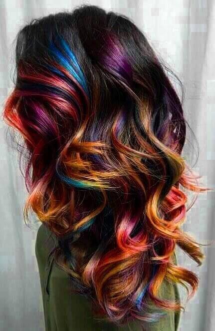 Окрашивание волос 2019 тренды (69)