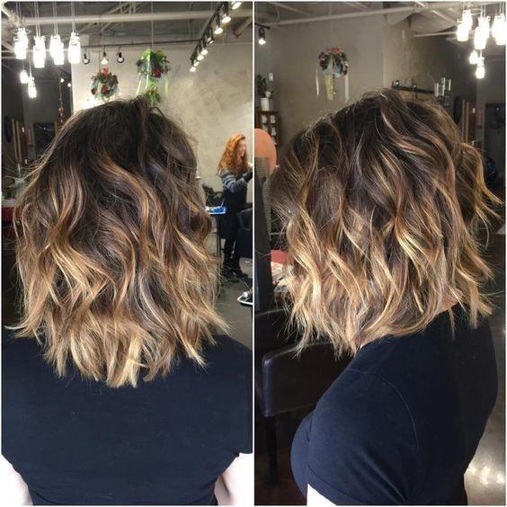 Окрашивание коротких волос 2019 (53)