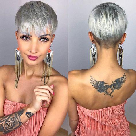 Окрашивание коротких волос 2019 (42)