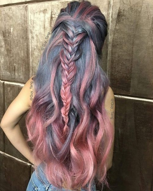 Окрашивание волос 2019 тренды (23)