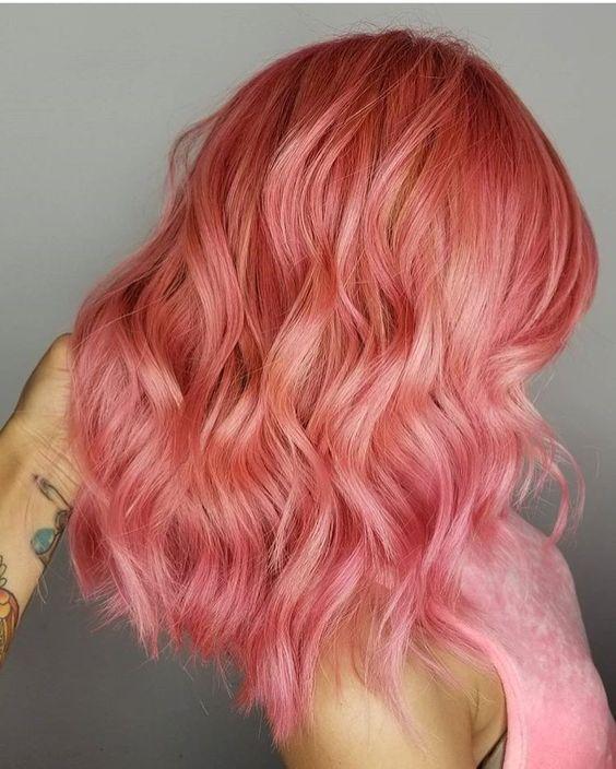 Окрашивание коротких волос 2019 (22)