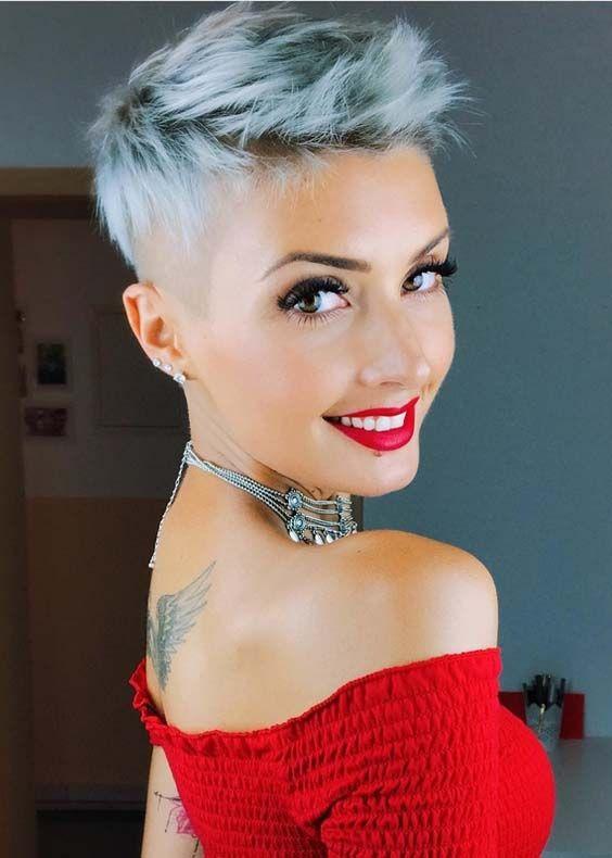 Окрашивание коротких волос 2019 (16)