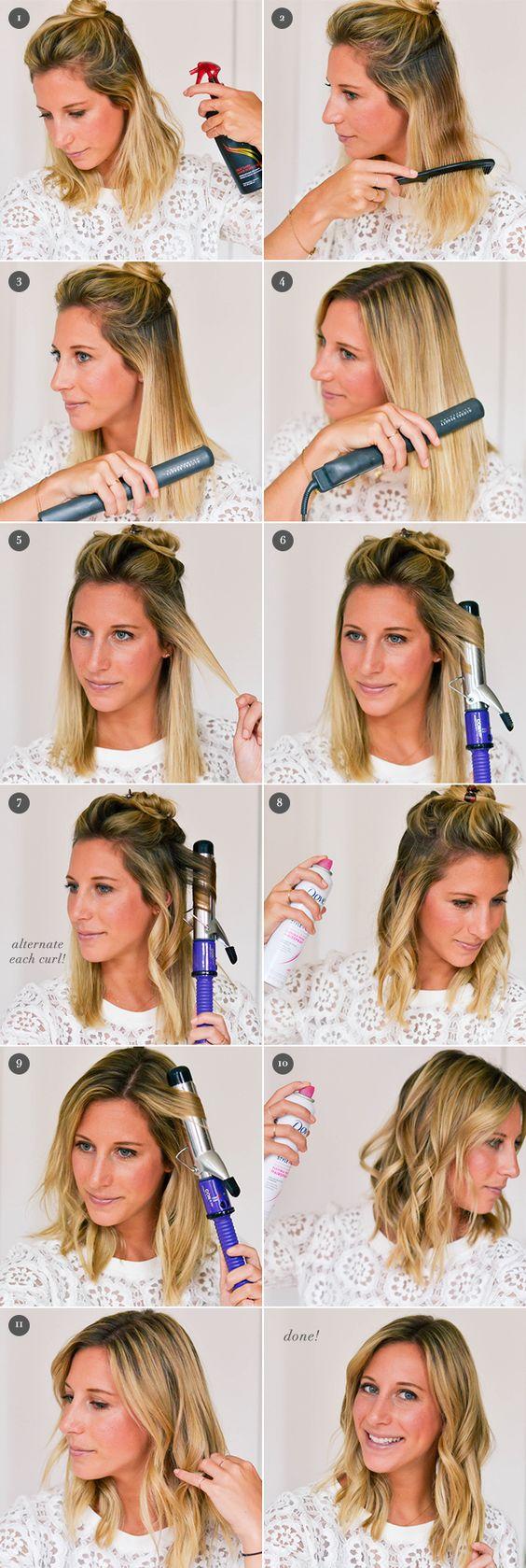 Причёски на выпускной 2019 пошагово (6)