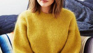 Новинки стрижек на средние волосы 2019 (16)