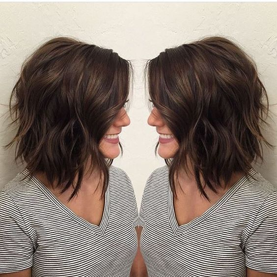 Стрижки для тонких волос2019 (29)