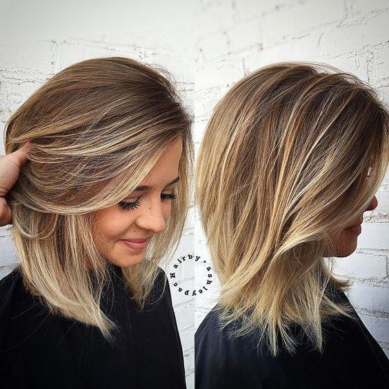 Стрижки для тонких волос2019 (22)