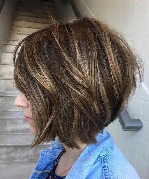 Стрижки для тонких волос2019 (4)