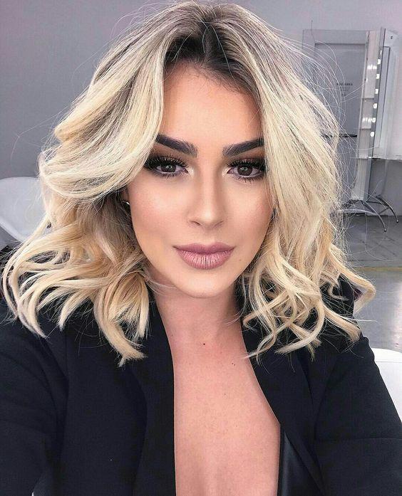 Стрижки для тонких волос2019 (53)