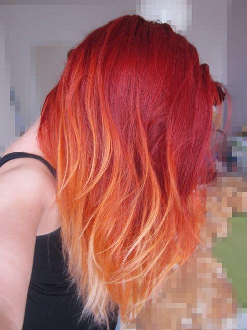 Рыжий цвет волос 2019 (32)