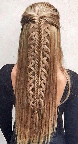 Причёски на длинные волосы 2019 (47)