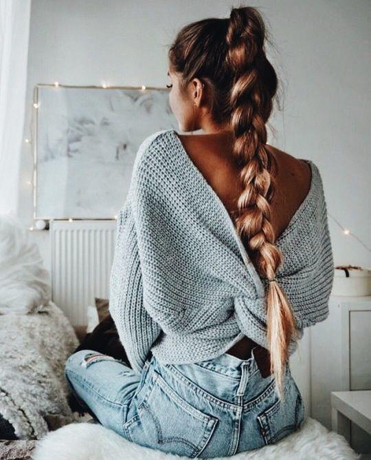 Причёски на длинные волосы 2019 (46)