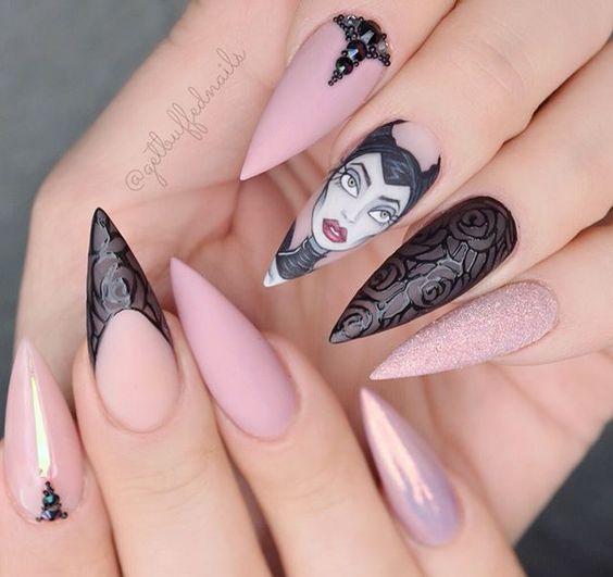 Красивый весенний дизайн ногтей 2019 (35)