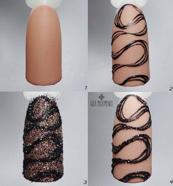 Красивый весенний дизайн ногтей 2019 (17)