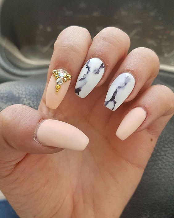 Красивый весенний дизайн ногтей 2019 (13)