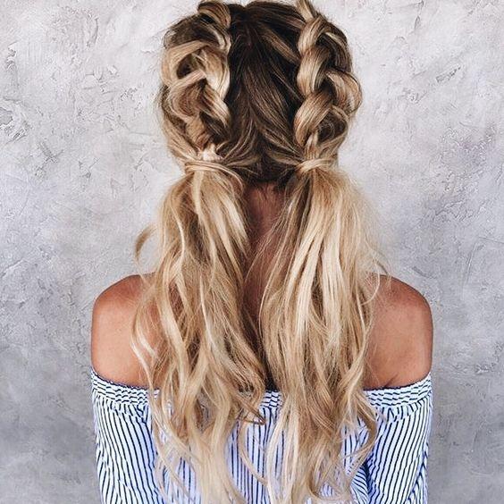 Причёски на новый 2019 год на средние волосы (18)