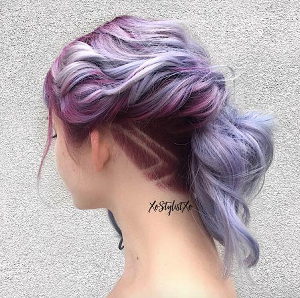 Причёски на новый 2019 год на средние волосы (26)