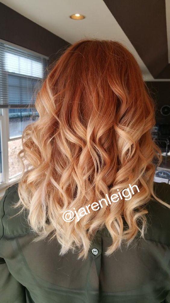 Рыжий цвет волос 2019 (28)