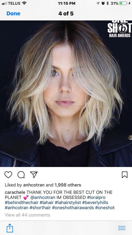 Стрижка Боб на короткие волосы 2019 (46)