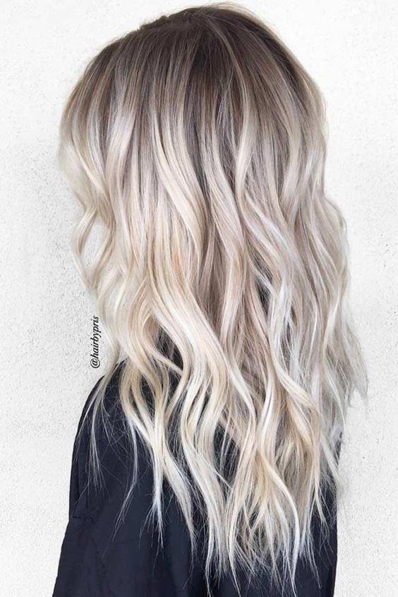 Модный блонд 2019 (64)