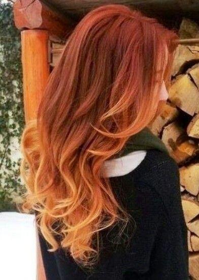 Рыжий цвет волос 2019 (36)