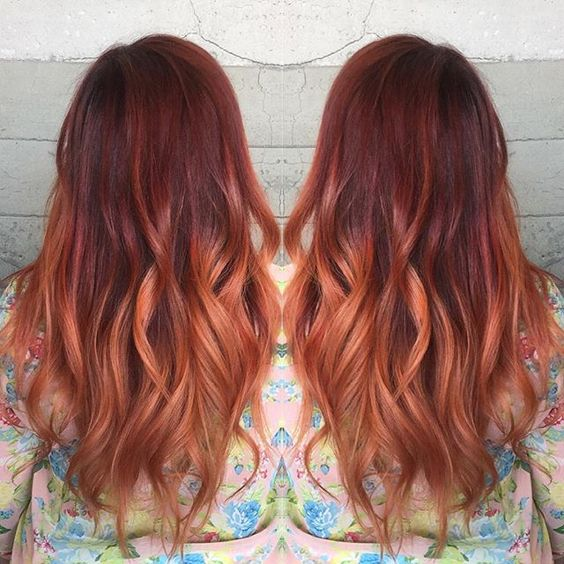 Рыжий цвет волос 2019 (35)