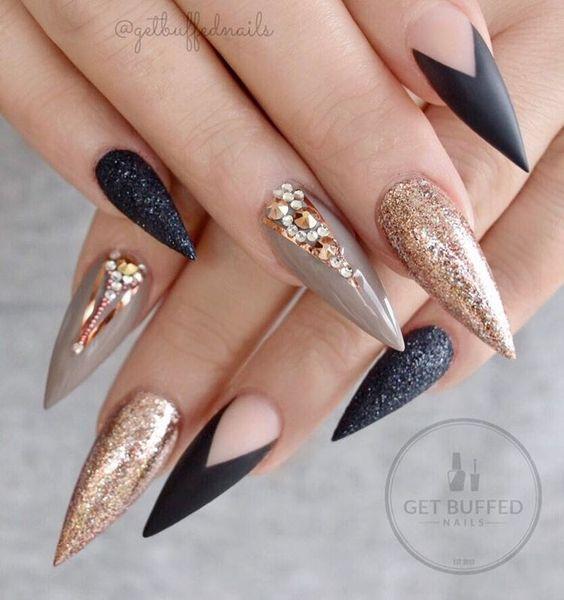 Красивый весенний дизайн ногтей 2019 (6)