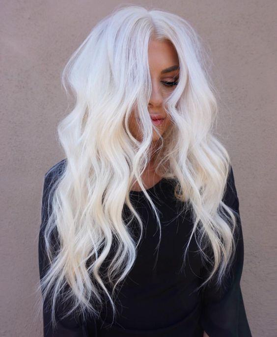 Модный блонд 2019 (34)