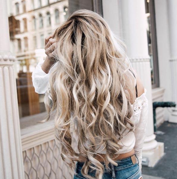 Модный блонд 2019 (26)