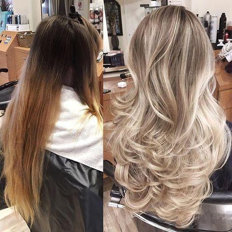 Модный блонд 2019 (33)