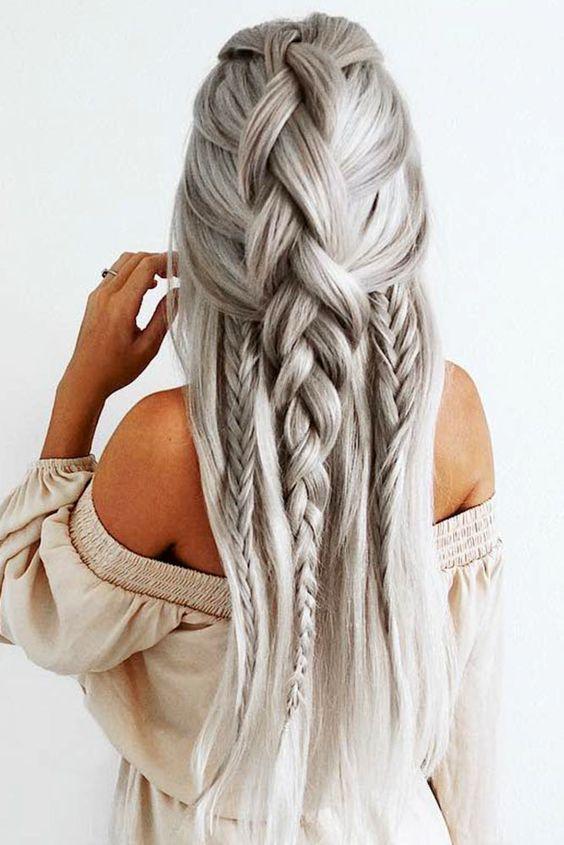 Причёски на длинные волосы 2019 (34)