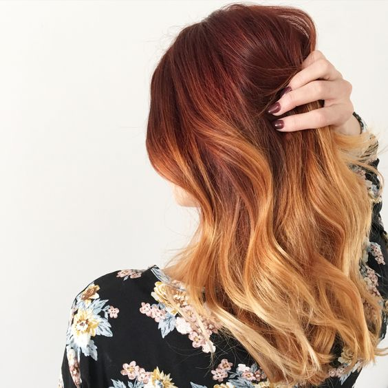 Рыжий цвет волос 2019 (33)