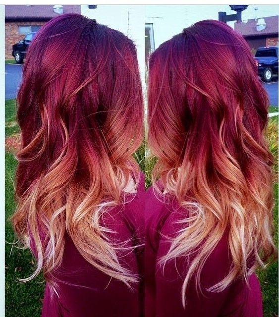 Рыжий цвет волос 2019 (20)