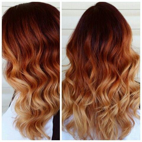 Рыжий цвет волос 2019 (19)
