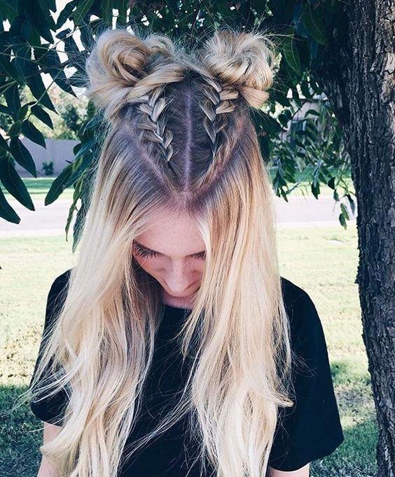 Прически на Новый год 2019 на длинные волосы (25)