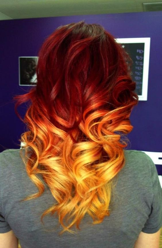 Рыжий цвет волос 2019 (23)