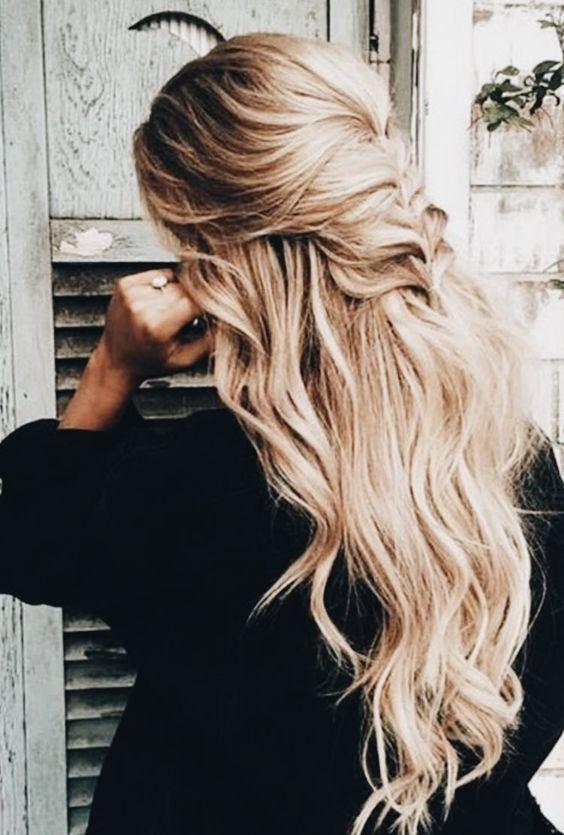 Прически на Новый год 2019 на длинные волосы (20)