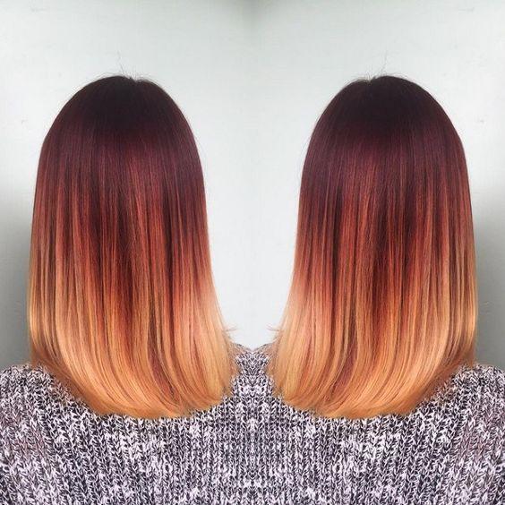 Рыжий цвет волос 2019 (31)