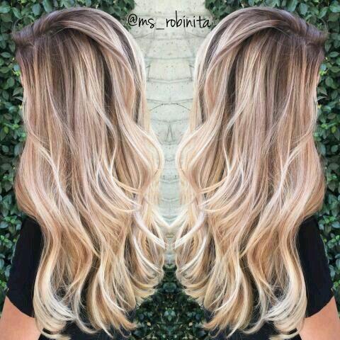 Модный блонд 2019 (58)