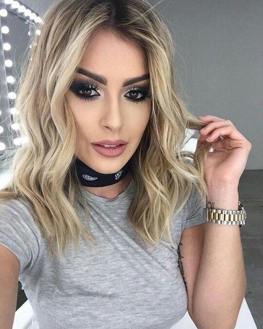 Модный блонд 2019 (72)