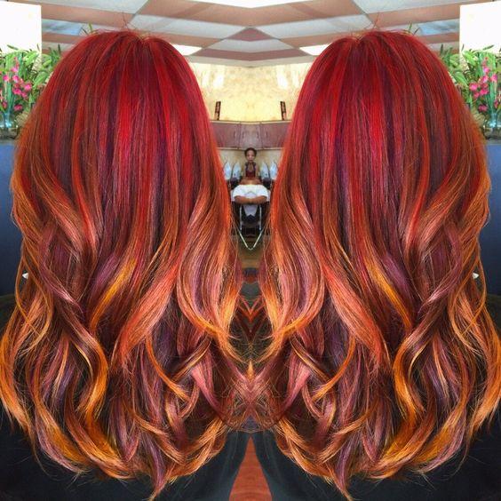 Рыжий цвет волос 2019 (18)
