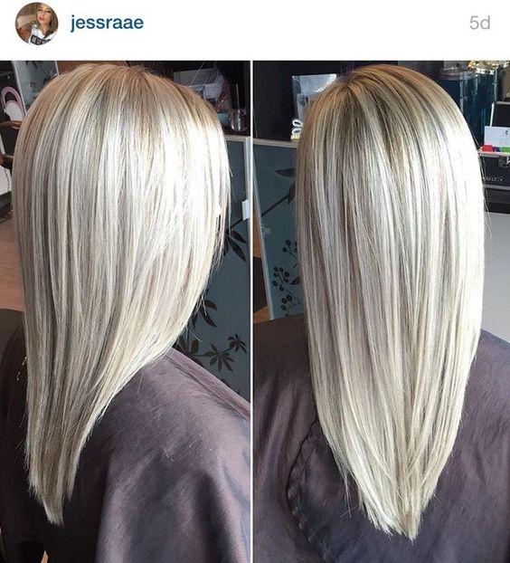 Модный блонд 2019 (28)