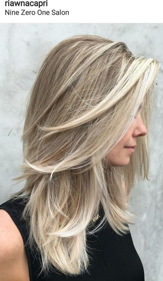 Модный блонд 2019 (15)
