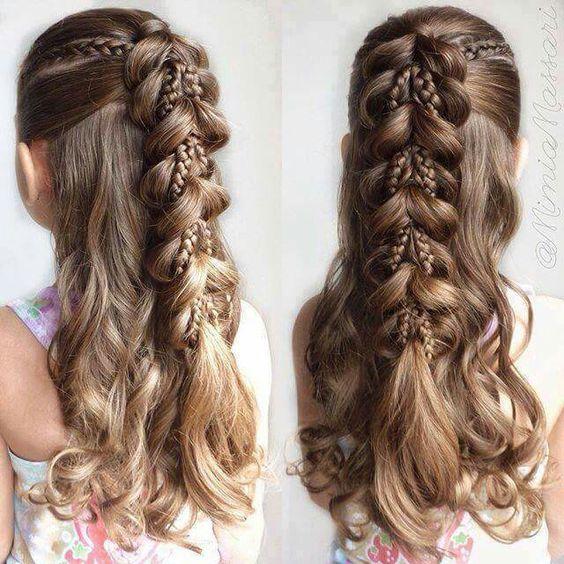 Прически на Новый год 2019 на длинные волосы (15)