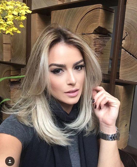 Модный блонд 2019 (70)