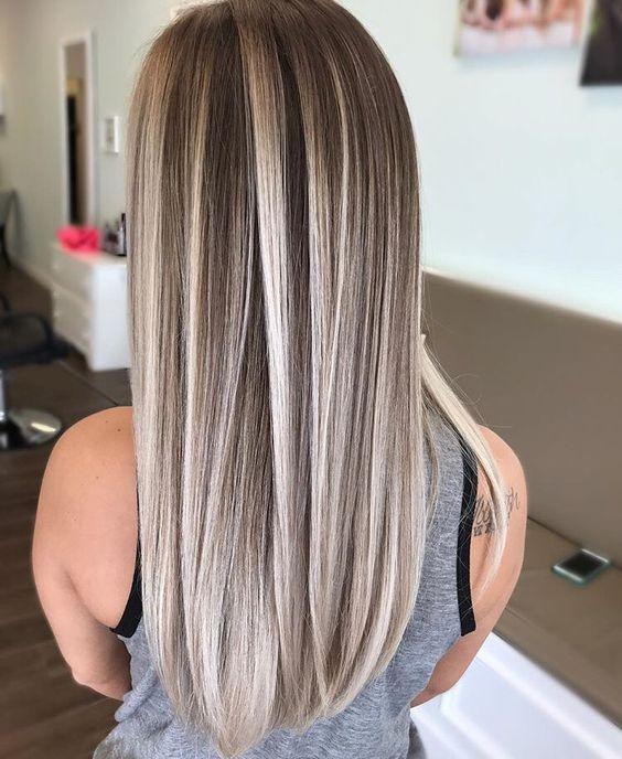 Причёски на длинные волосы 2019 (24)