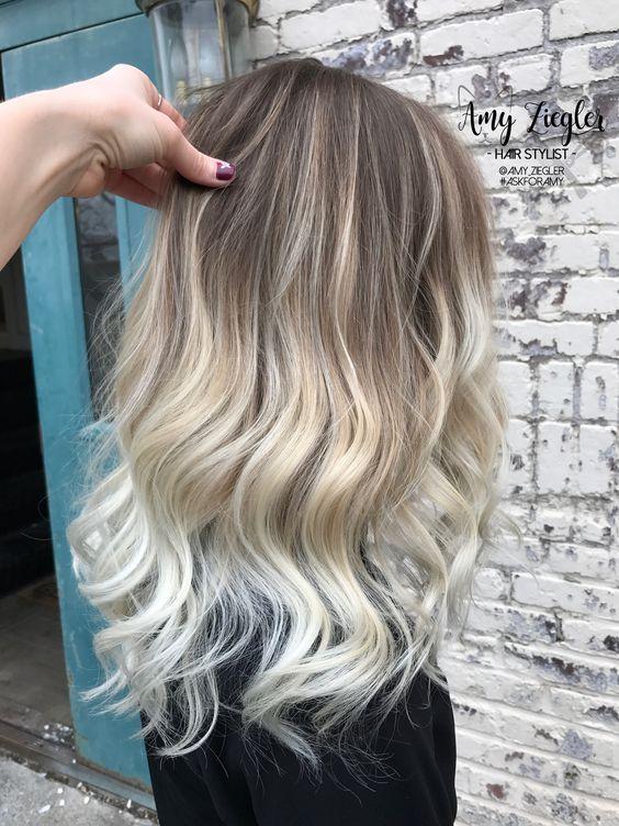 Модный блонд 2019 (43)