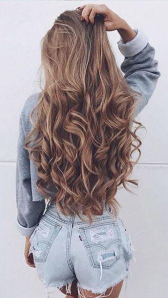 Причёски на длинные волосы 2019 (19)